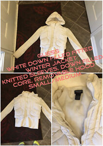 GUESS downfilled winter jacket small/medium