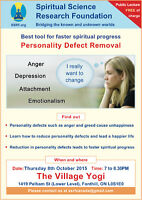 Best tool for Spiritual Progress: Removal of personality defects