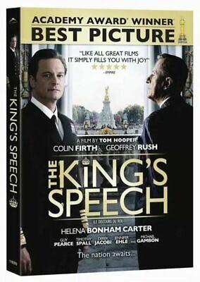 The King's Speech (2011) Colin Firth NewDVD