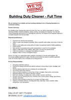 Building Cleaner