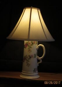 Fine China Table Lamp