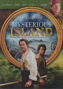 Jules Verne Mysterious Island Brand New and Sealed DVD