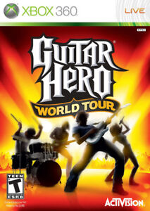 Guitar Hero: World Tour for Xbox 360