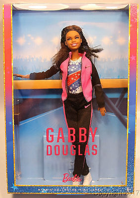 Barbie Gabby Douglas By Mattel Nrfb