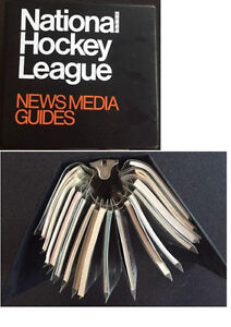 NHL LNH Guide média du hockey...Condition parfaite...