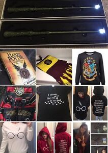 HARRY POTTER - robes, scarves, wands & more! All brand NEW
