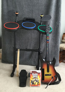 Guitar Hero World Tour for Wii Including Guitar and Drums