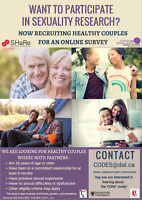 Wanted: Couples Sexuality and Relationship Study