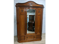 Victorian Corner Wardrobe (DELIVERY AVAILABLE)