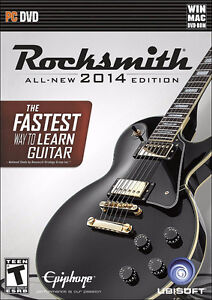 WANTED: Rocksmith 2014 for Mac (and PC) DVD disc