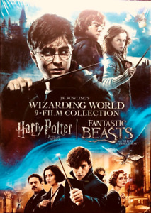 Harry Potter 9 Movies Collection - Brand new - Free Delivery