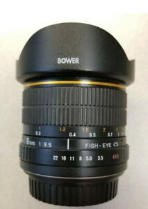 Bower 8mm f3.5 Fisheye Lens