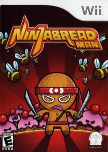 NINJABREAD MAN- Wii Game