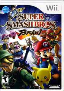 Super Smash Bros. Brawl wii (works on wii u)