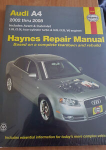 Audi A4 - 2002 - 2008 - Haynes Repair Manual Kitchener / Waterloo Kitchener Area image 1