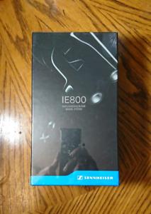 Sealed Sennheiser IE800 Audiophile In-ear headphones