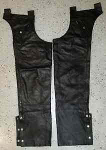 Leather Chaps - Size Large