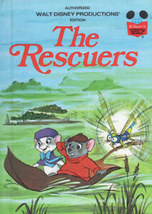 The Rescuers Walt Disney World of Reading Vintage 1977 Kids Book