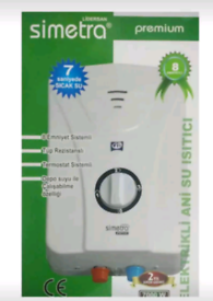 Electric instant water heater No main pipes needed