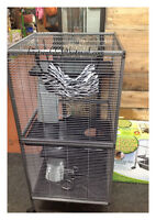 Cages neuves pour furet, chinchilla,rat