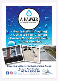 WINDOW CLEANING - A. HAWKER CLEANING & MAINTENANCE