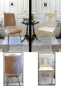 2 Gorgeous Vanity Chairs! Button Tufted,Nail Head or Solid Wood