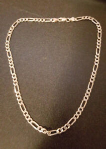 925 Sterling Silver Chain Necklace (Unisex)