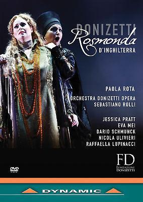 Rosmonda d'Inghilterra, New DVDs
