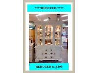 Amazing vintage display dresser shabby chic REDUCED