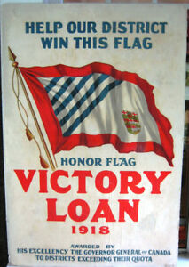 WORLD WAR ONE VICTORY BOND POSTER