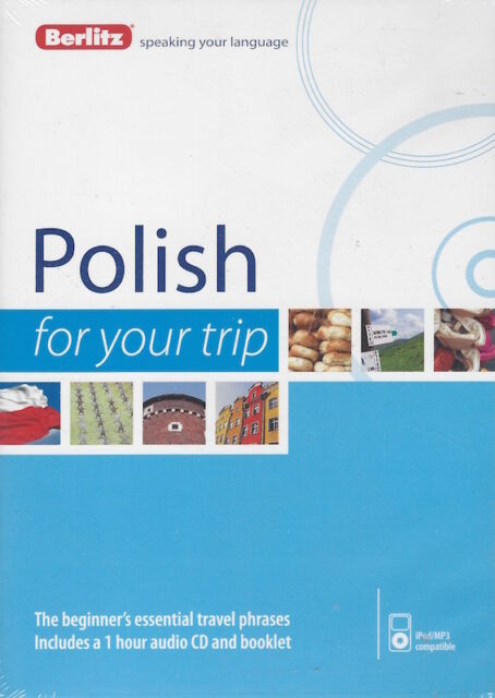 Berlitz Polish For Your Trip Audio CD *IN STOCK IN MELBOURNE - NEW*