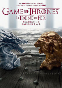 GAME OF THRONES SEASON 1-7 (Gift Set) Brand new Sealed (DVD)