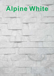 Super White Stone Wall Panel for $6.50/sf (6040 50 Street)