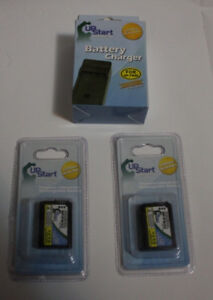 *Sealed* 2 NEW Batteries & Charger *Sony A7 A6300 A7r A7sii*