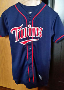 Mint Condition Minnesota Twins Youth Jersey - Size Large