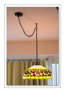 Tiffany pendant ceiling light Edmonton Edmonton Area image 2