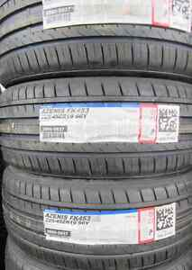 Tires. P225+45+19 INCH $650/4 TIRES (((NEW TREAD)))