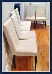 6 chaises design contemporain CORBEIL