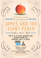Outdoor Movie Night - James and the Giant Peach