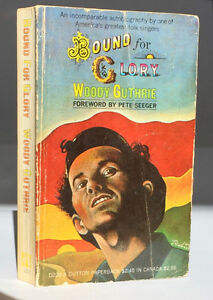 WOODY GUTHRIE - BOUND FOR GLORY paperback 1968 EP DUTTON Belleville Belleville Area image 1