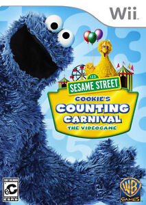 Seasame Street Cookie's Counting Carnival for Children