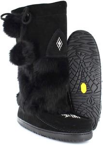 Manitobah mukluks snowy owl black