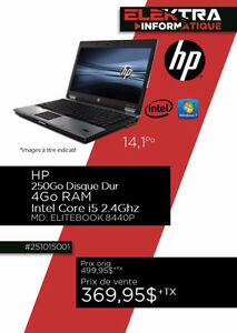 251015001....ORDINATEUR PORTABLE HP...$369.95