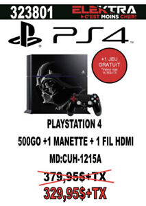 323801...CONSOLE PLAYSTATION 4