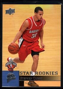 Stephen Curry Upper Deck Basketball Rookie/RC