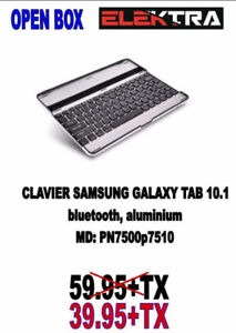 NEUF......CLAVIER SAMSUNG POUR TABLETTE.....$39.95