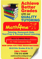 Part time tutors/mentors for all subjects grade 4- grade12