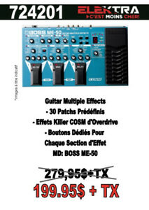 724201.....GUITARE MULTI EFFECT .....$199.95