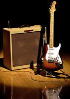 Guitariste rythm et lead
