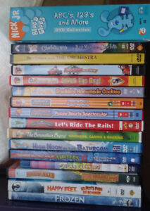Collection of children's DVD movies